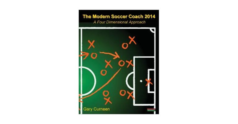 The Modern Soccer Coach 2014 book cover