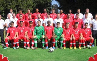 Canadian Under 20 Soccer Team