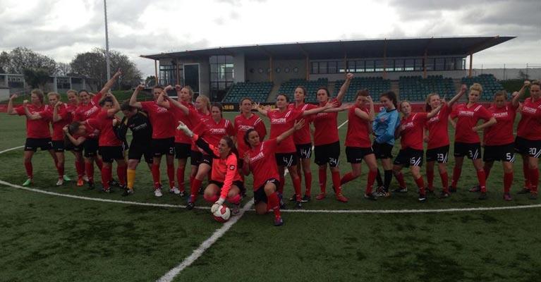 New Zealand's Mainland Pride Soccer Team