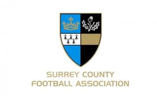 Surrey County FA logo
