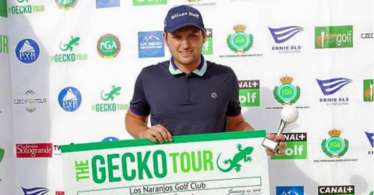 Luke Johnson Wins on Gecko Tour