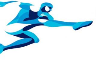 Blue Soccer Psychology Player