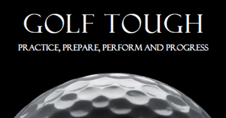 Dan Abrahams Golf Tough book cover