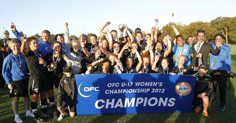 New Zealand Under 17 Women's Football Team