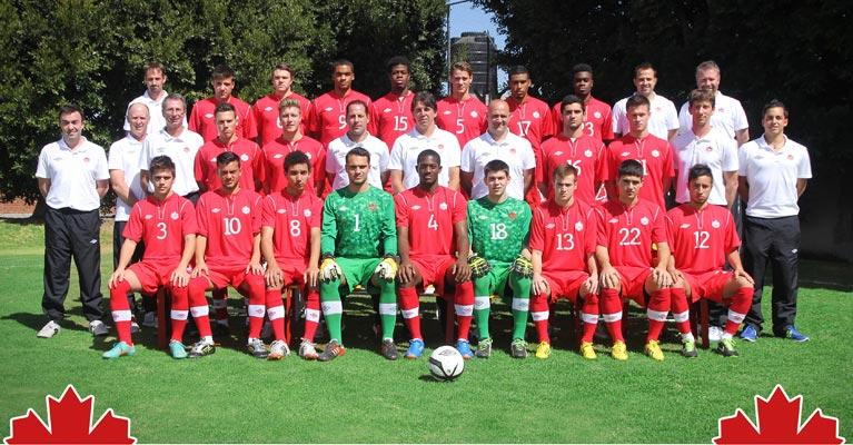 Canadian Under 20 Soccer Team