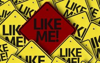 Like me graphic