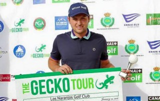 Luke Johnson Wins on Gecko Tour